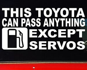 THIS-TOYOTA-4x4-ute-Car-accessories-Funny-landcruiser-Stickers-200mm