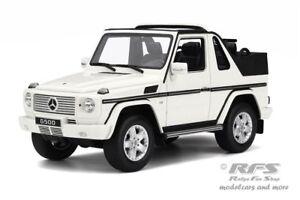 Mercedes-Benz-Clase-G-cabriolet-ano-de-construccion-2007-Weiss-1-18-Otto-Mobile-275