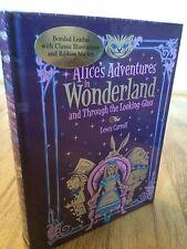 Lewis Caroll Alice's Adventures in Wonderland Leather Bound hardback