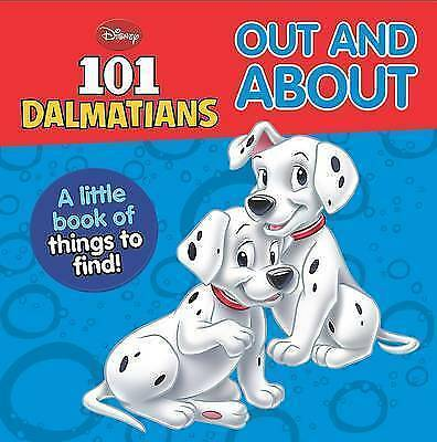 "1 of 1 - Disney Mini Board Books - ""101 Dalmatians"": Out and About, New,  Book"