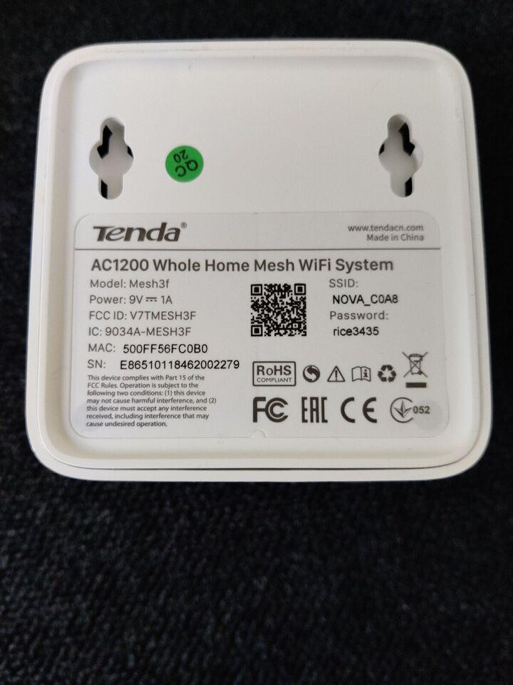 Router, wireless, Nova AC1200