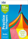 11+ Maths Practice Test Papers - Multiple-Choice: for the GL Assessment Tests (Letts 11+ Success) by Letts 11+, Simon Greaves (Paperback, 2015)