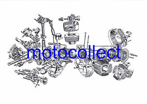 DUCATI-750SS-900SS-Engine-A3-print-Can-be-laminated-Free-Postage-Worldwide