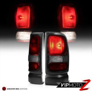 1994-2001-Dodge-Ram-1500-034-SMOKE-DARK-RED-034-Brake-Tail-Lights-94-02-Ram-2500-3500