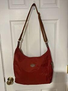 Details about Longchamp Le Pliage Hobo Crossbody Nylon Messenger Bag