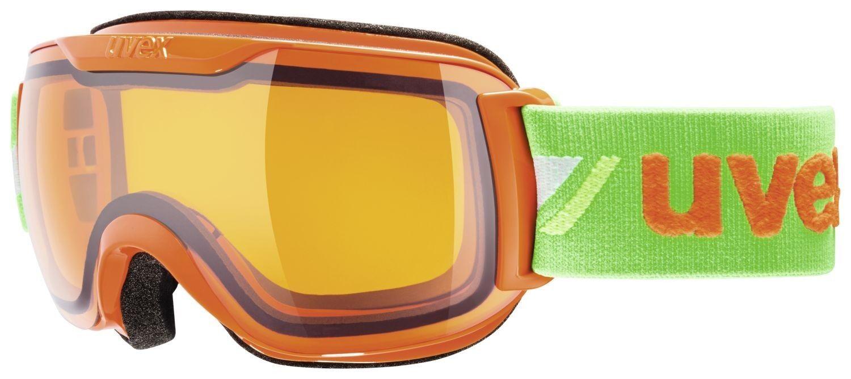Uvex Uvex Uvex Downhill S race Skibrille Snowboardbrille Schneebrille - Orange Grün 7960ce