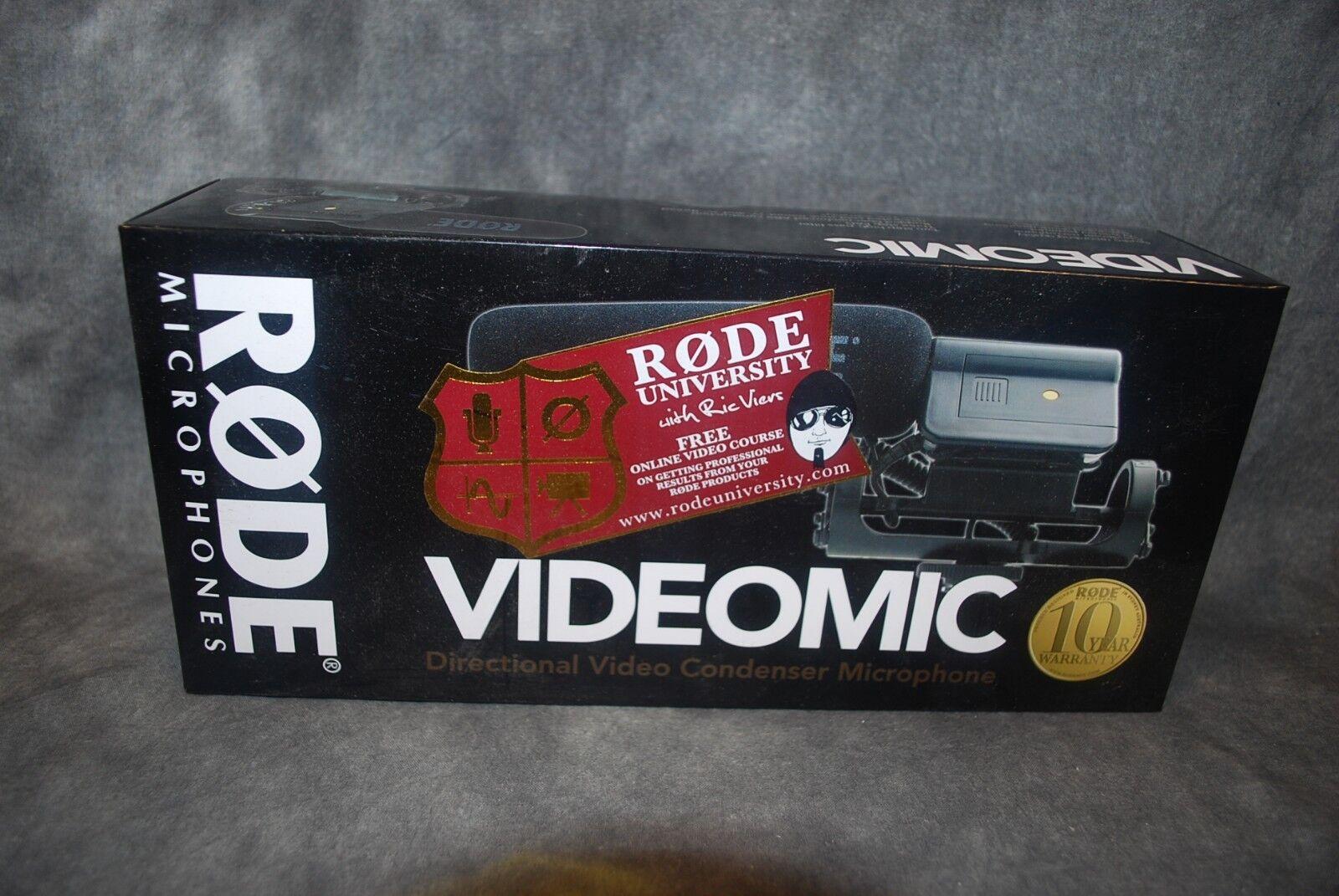 Rode Video Mic VideoMic New Dealer Microphone