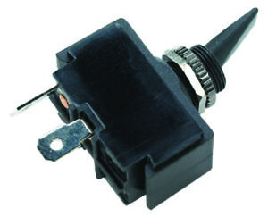 Boat Marine 3 Position Toggle Switch Black Plastic Paddle On//Off//On 16A 12VDC