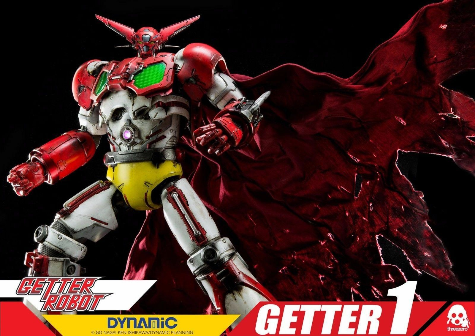 GETTER 1 GETTER ROBOT DYNAMIC THREEZERO NEW