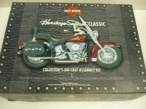 Details about HARLEY DAVIDSON HERITAGE SOFTAIL CLASSIC COLLECTOR'S DIE CAST  ASSEMBLY KIT MIB,