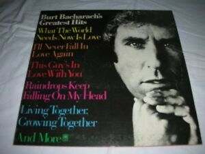 BURT-BACHARACH-Greatest-hits-LP-MINT