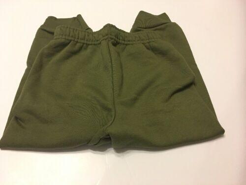 Boys Pants Size 2T Olive Green Fleece