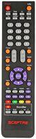 Sceptre Tv Sound Bar Remote For E505bv-fmqr E555bv-fmqre558bv-fmqr X322bv-hdr