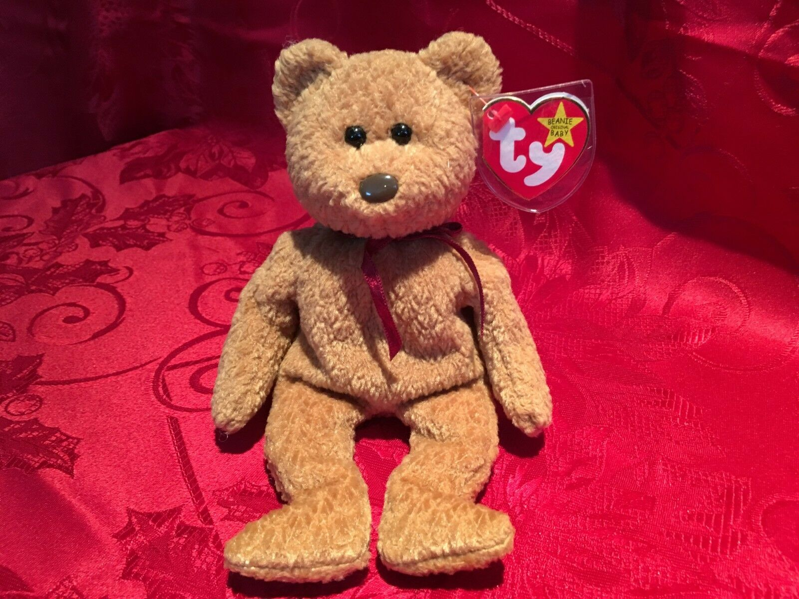 Ty Beanie Babies Babies Babies Original  CURLY  Retired, Mint Condition,A treasure indeed  57ceb6