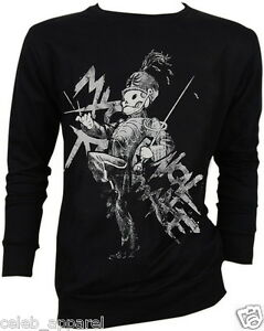 New My Chemical Romance Gerard Way Black Parade Sweater Jumper