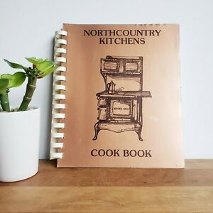1987 North Country Kitchens Au Train MI community cookbook vintage recipe book