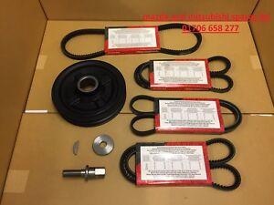 Per-Mitsubishi-L200-2-5-ALBERO-MOTORE-MANOVELLA-PULEGGIA-DELL-039-ALTERNATORE-POWER-AC-Cintura