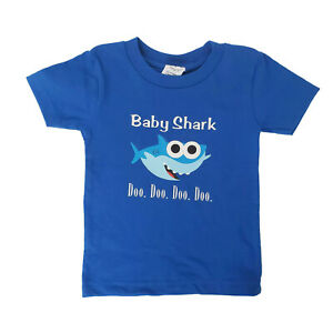 Baby Shark T-Shirts Multiple Sizes /& Colors Available