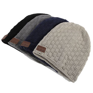 Image is loading Washable-Winter-Mens-Womens-Hat-Bluetooth-Beanie-Running- 0ac835f7459