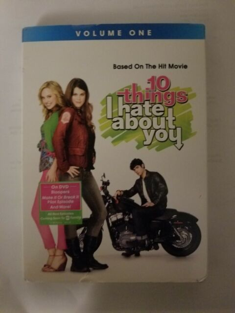 10 Things I Hate About You, Vol. 1 (DVD, 2010, 2-Disc Set) TV series