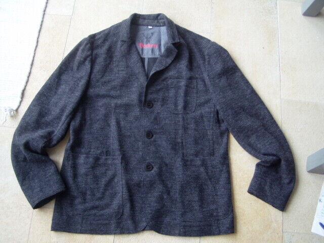 * Schönes graue Woll Trachten Sakko Beckert Gr. 52 *