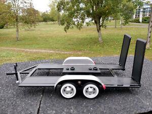 Remorque-porte-voiture-pour-vehicules-echelle-1-24-neuve-longueur-24cm