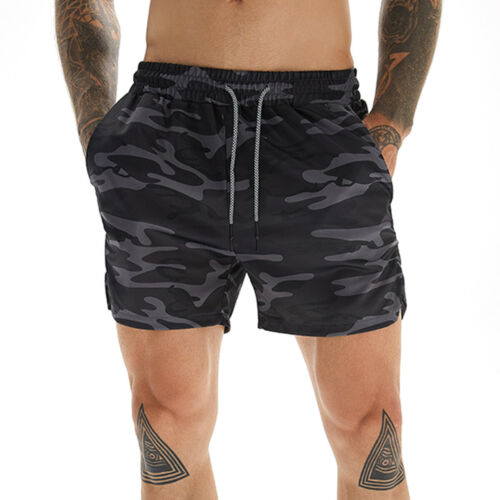 Men/'s Sports Workout Shorts Gym Running Athletic Shorts with Towel Loop Bottoms