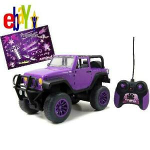 Remote Control Big Foot Jeep Truck Battery Operated Kids Girls Toy Car Ages 6 Up 313019519556 Ebay