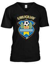 Uruguayan Flag T-Shirt Tee Shirt Free Sticker Uruguay URY UY