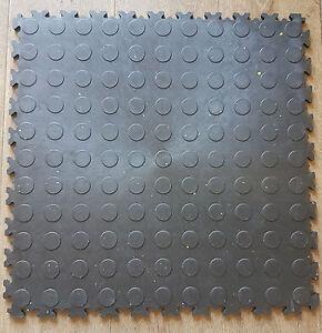 ECO-scanalata-NERA-PVC-Officina-Garage-Terra-CERAMICA-PIASTRELLA-clic-posa