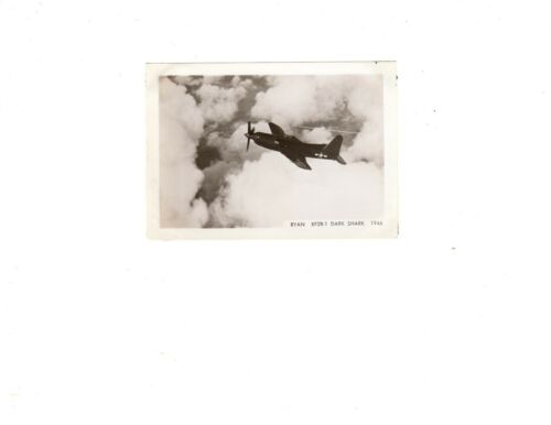 WWII Historical US Navy Aircraft USS Ryan Dark Shark XF2R1 Official Photo 3.5x5