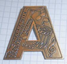 fasnachtsorden alt anstecker  metall marbach fasnet A fasching 1995  top deko