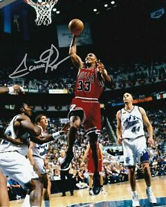 Scottie Pippen Autographed Signed 8x10 Photo ( Bulls ) REPRINT
