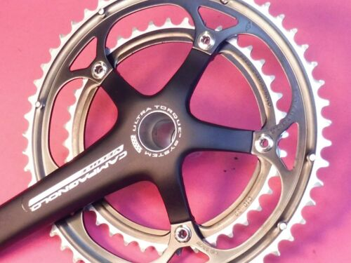 Campagnolo Veloce U//Tq 2009 bicycle chainset NOS 172.5 39.53