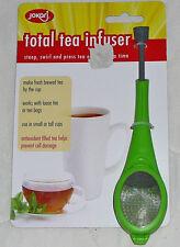 Jokari Total Tea Infuser Steep Brew Loose & Tea Bags Steeper Press