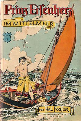 Prinz Eisenherz 3 HC Hal Foster Badischer Verlag 1.Auflage COMIC KLASSIKER 50er