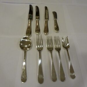 Details About Lot Tiffany Co M Sterling Silver Flatware 9 Serving Pieces