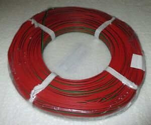 "(0,479€/m) Drillingslitze 50m rot-schwarz-grün ROCO   ""NEU"""