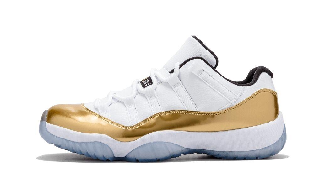 separation shoes 84fb8 c879b ... low price nike air jordan retro 11 bajo oro blanco de ceremonia de de  clausura 528895103