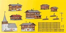 Kibri 38010 Dorf-Set Sertig-Dörfli Schweiz (CH) Bausatz Neu / OVP