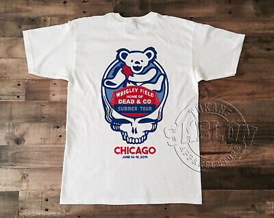 Dead And /& Company Tour 2019 T Shirt CHICAGO WRIGLEY FIELD GILDAN NEW S-5XL
