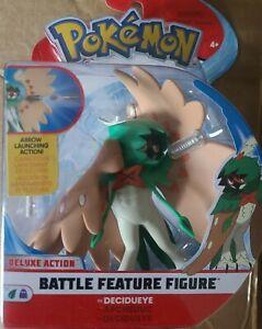 Wicked Cool Toys - Pokemon Battle Feature Figure - DECIDUEYE w/ Arrow Launching