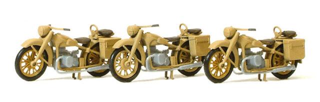 H0 Preiser 16572 Motorrad BMW R 12 Deutsches Reich 1939-45 1:87
