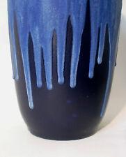 "60s Scheurich Keramik ""517"" floor Vase 50 cm ceramic west german fat lava glaze"