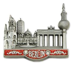 Berlin-Metall-Magnet-Brandenburger-Collage-Reise-Souvenir-Germany