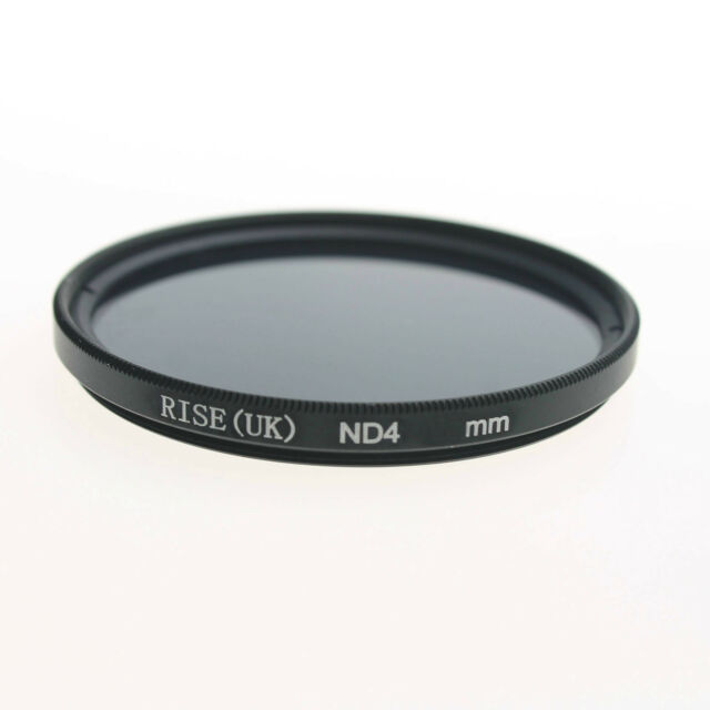 RISE(UK) 67mm Neutral Density ND4 filter for Canon Nkion Sony Pentax