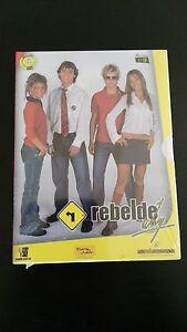 Detalles de REBELDE WAY TEMPORADA 1 - 5 DVD CAPITULOS 1-19 SPANISH EDITION  PRECINTADO!