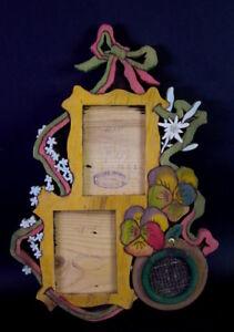 toller-Jugendstil-Rahmen-Fotorahmen-Art-Nouveau-Holz-Saegearbeit-Nr-3
