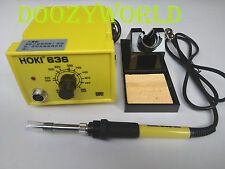 HOKI636 60W 220V Adjustable Temperature Soldering Station Soldering Iron Kit ESD