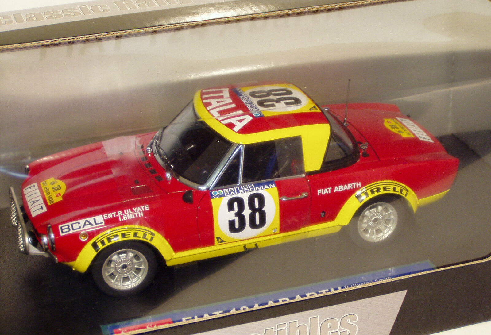 1 18 Fiat 124 Abarth  East African Safari  Rally 1974   R.Ulyate I.Smith  en solde 70% de réduction